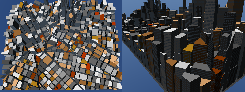 Generated Buildings