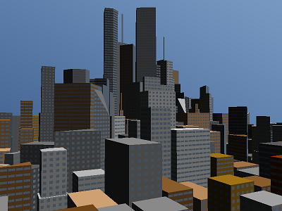Generated City